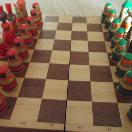 Chess Set, Fujifilm FinePix T350
