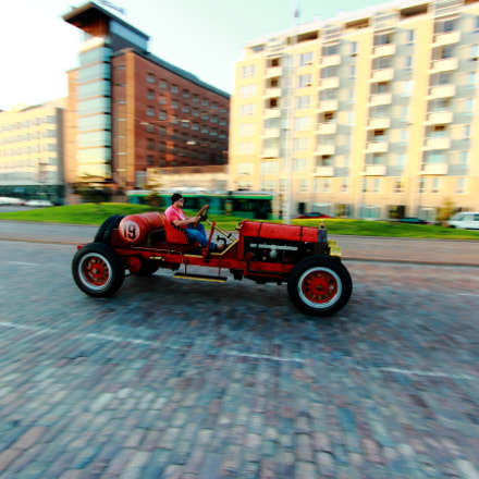 Old car cruising the, Canon EOS 600D, Canon EF-S 10-22mm f/3.5-4.5 USM