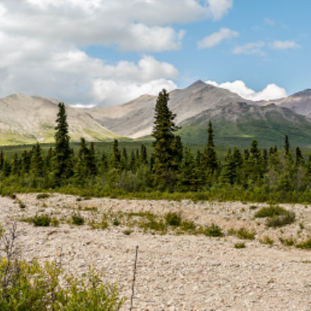 Denali National Park Panorama, Panasonic DMC-G5, Lumix G Vario 7-14mm F4.0 Asph.