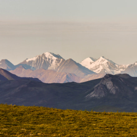 Denali National Park Panorama, Panasonic DMC-G5, LUMIX G VARIO 45-150/F4.0-5.6