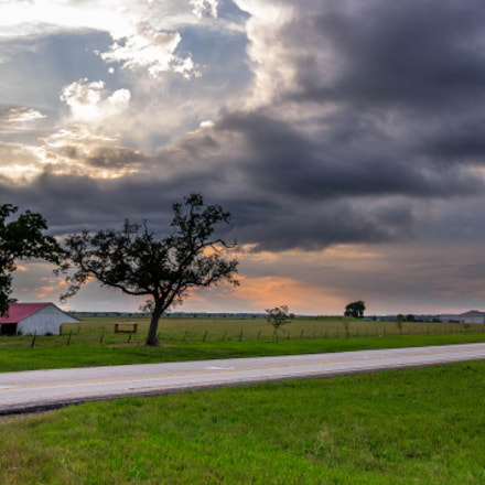 Texas Sunset, Pentax K-R, Sigma 18-35mm F1.8 DC HSM