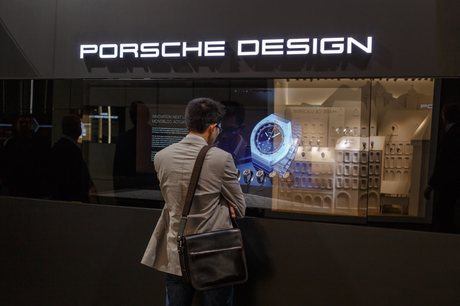 Baselworld Window Shopping I by Manfred Muenzl on 500px.com
