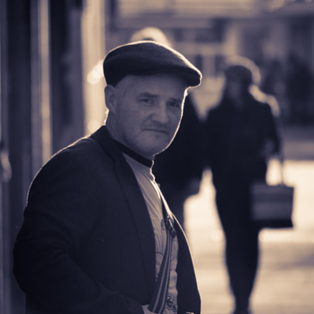 Irish man in Sweden., Pentax K-500, smc PENTAX-DA L 50-200mm F4-5.6 ED