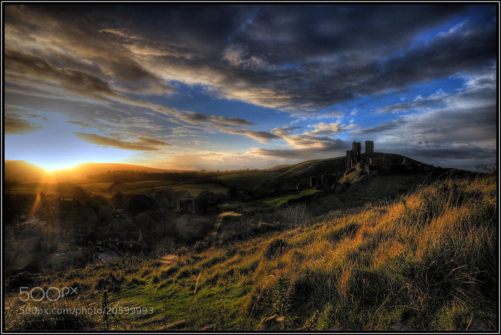 Photograph Corfe Castle by Sebastian Grabowski on 500px