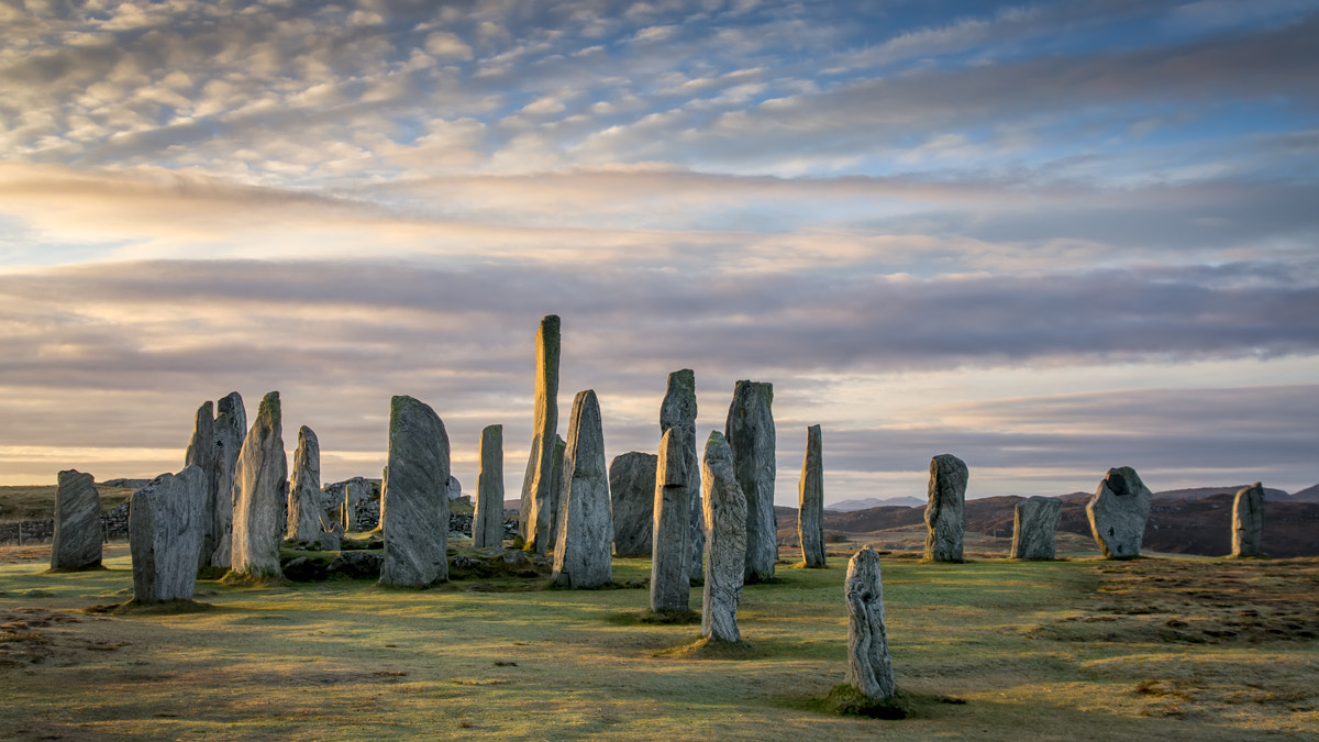 Photograph Callanish Standing Stones, Isle of Lewis, Outer Hebrides... by David Mould on 500px