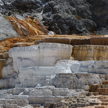 Mammoth Hot Springs, Canon EOS 70D, Canon EF-S 15-85mm f/3.5-5.6 IS USM