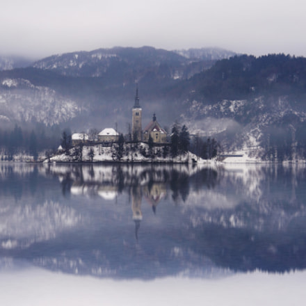 Winter at Bled, Sony NEX-5N, Sony E 18-200mm F3.5-6.3 OSS