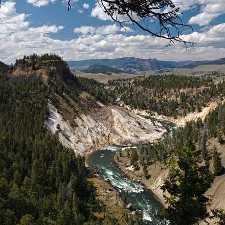 Yellowstone River, Canon EOS 70D, Canon EF-S 15-85mm f/3.5-5.6 IS USM