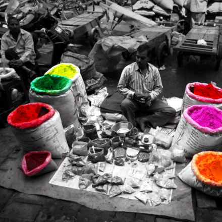 Holi Colours, Fujifilm FinePix S8200