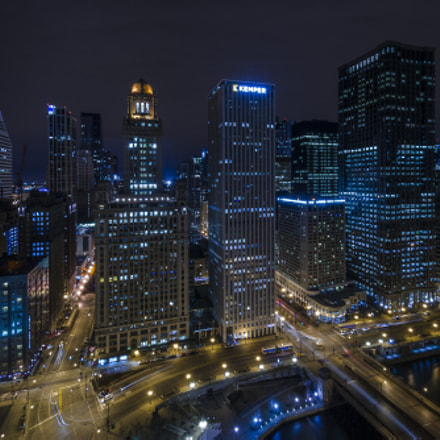 Chicago Nightscape, Nikon D5100, AF-S DX Nikkor 10-24mm f/3.5-4.5G ED