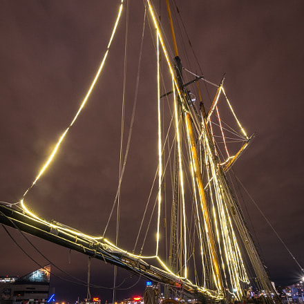 Pride of Baltimore II, Nikon D800, AF-S DX Nikkor 10-24mm f/3.5-4.5G ED