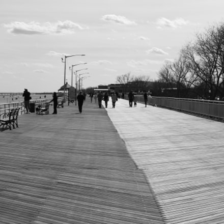 On the boardwalk! , Canon EOS M10, Canon EF-M 15-45mm f/3.5-6.3 IS STM