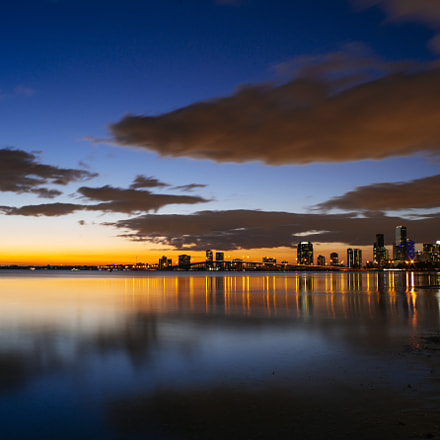 Sunset at Miami Key, Canon EOS 6D, Canon EF 28-70mm f/3.5-4.5