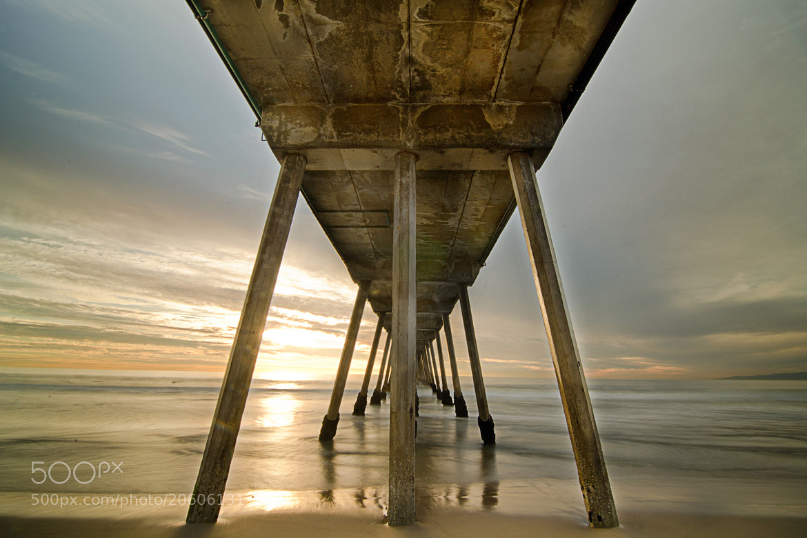 Photograph ©John Torres 2012 | Underneath the Hermosa Beach Pier | Hermosa Beach, CA by John Torres on 500px
