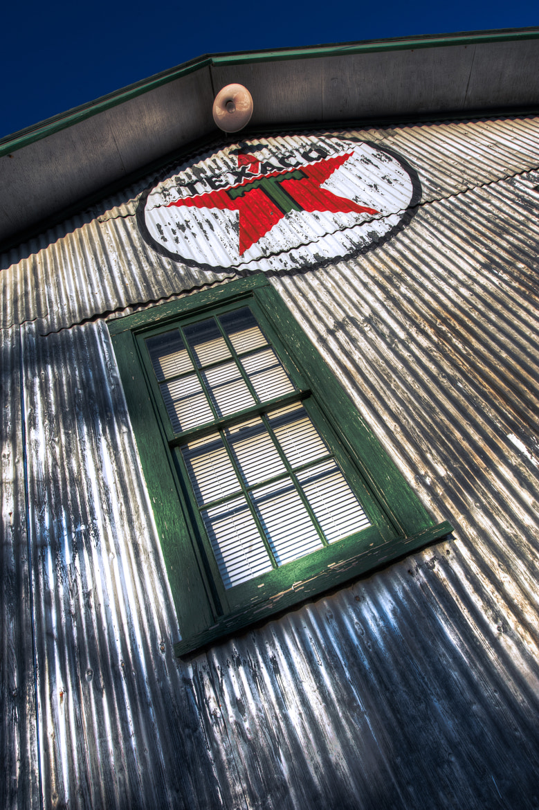 Photograph Texaco and Window by Dave Wilson on 500px