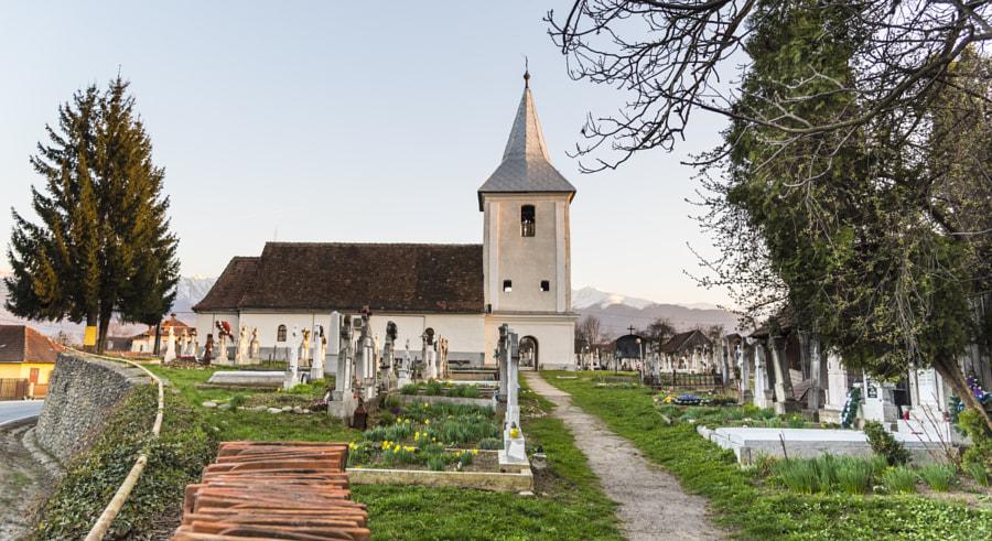 Orthodox Church in Cartisoara, Romania