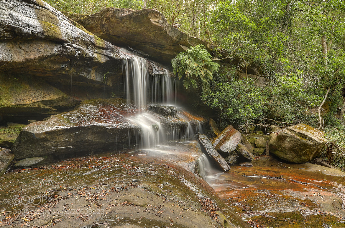 Photograph Somersby Falls. 15-12-12. by Warren Patten on 500px