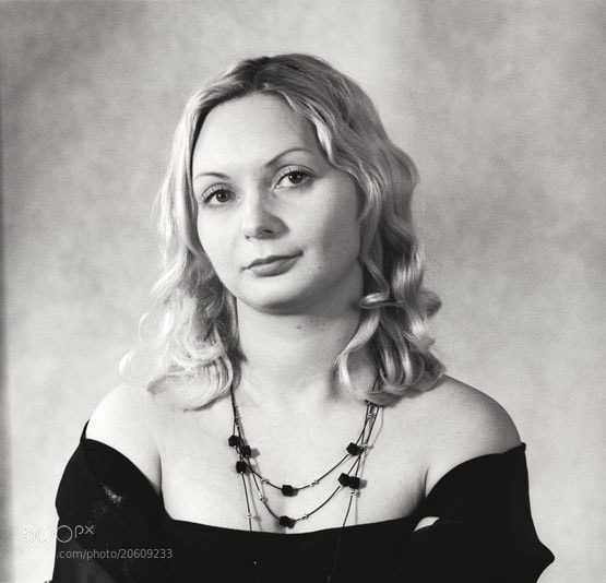 Classical portret of russian woman by Roman Popov (Roman_Popov)) on 500px.com
