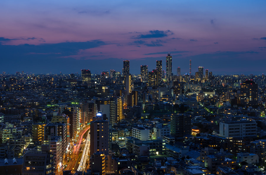 Ikebukuro by Pierre Caillault on 500px.com