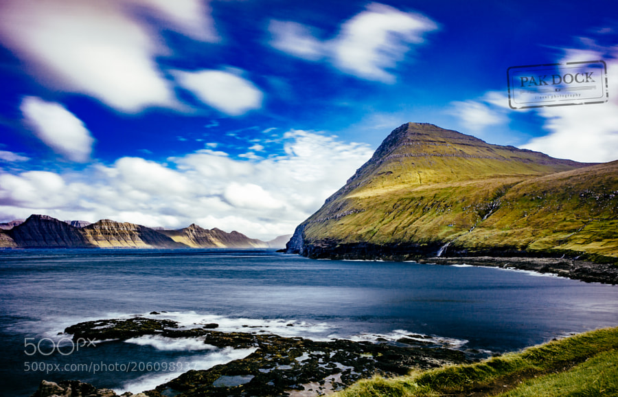 The view from Gjógv - Faroe Islands