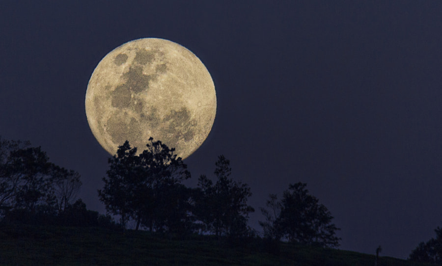 Full Moon Rise, Nuwara Eliya, Sri Lanka by Son of the Morning Light on 500px.com