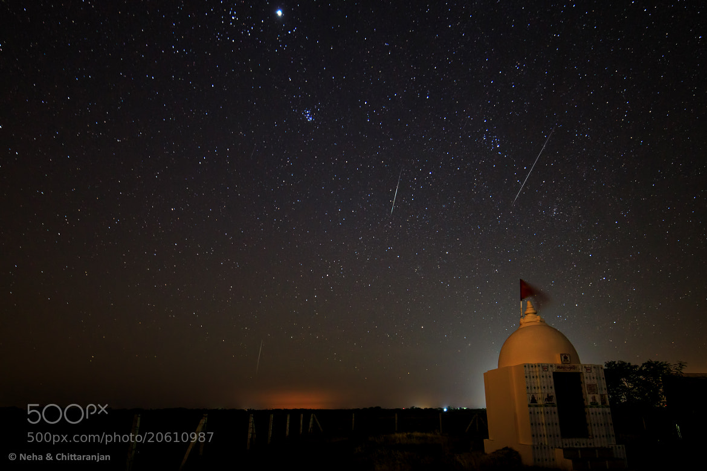 Photograph Geminid Meteor Shower by Neha & Chittaranjan Desai on 500px