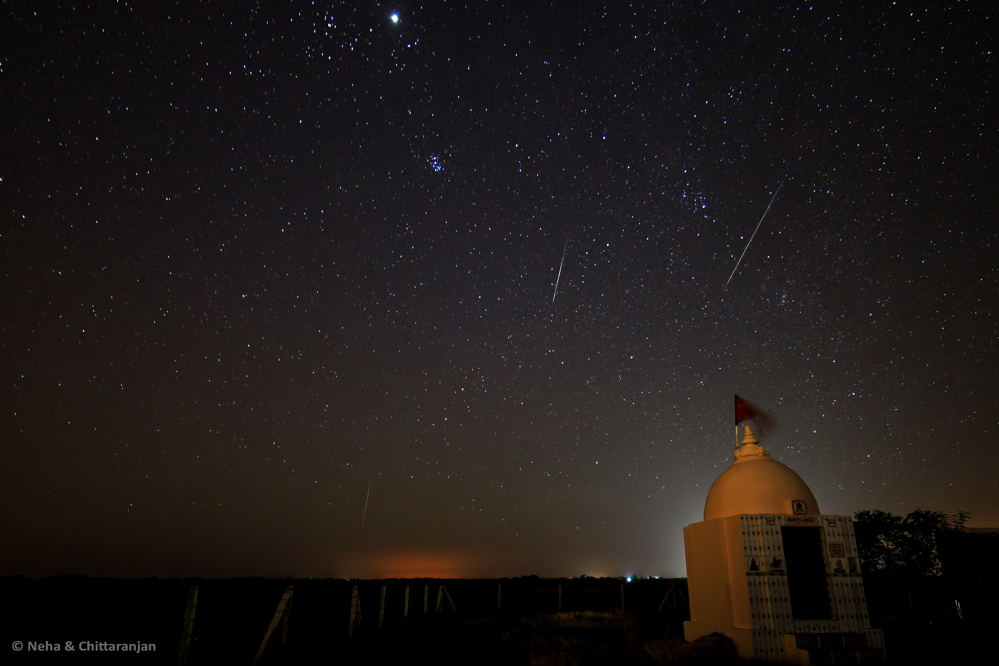 Photograph Geminid Meteor Shower by Neha & Chittaranjan Desai on 500px