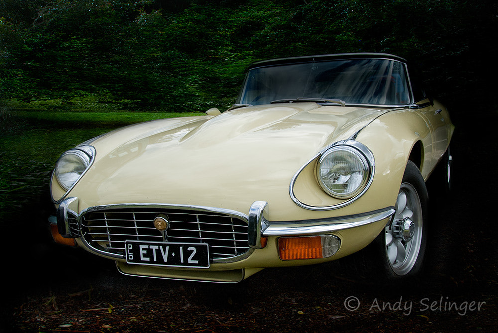 Photograph e-type Jaguar by Andy Selinger on 500px