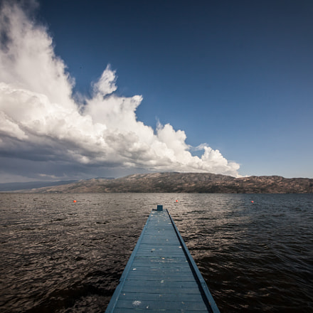 A long dock into, Canon EOS 5D MARK II, Sigma 12-24mm f/4.5-5.6 DG HSM II