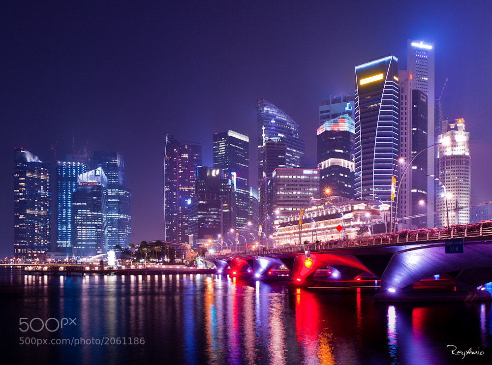 Photograph Singapore CBD by Rey Amio on 500px