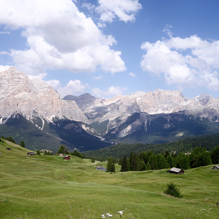 Italian Dolomites in summer, Sony DSC-RX100, Sony 28-100mm F1.8-4.9