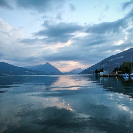 Sunset @ Lake Brienzersee, Canon EOS 60D, Canon EF-S 10-22mm f/3.5-4.5 USM