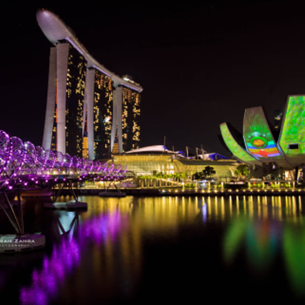 Colorful Night of Singapore, Canon EOS 60D, Canon EF-S 10-22mm f/3.5-4.5 USM