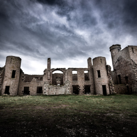 Slains Castle 1 (Dracula Inspiration)