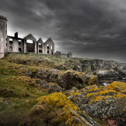 Slains Castle 2 (Dracula Inspiration)