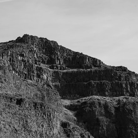 Canyon Black and White, RICOH PENTAX K-3, smc PENTAX-DA 50mm F1.8