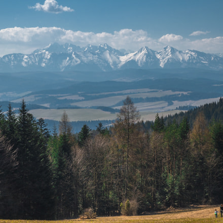 The Tatra Mountains seen, Sony SLT-A57, Tamron SP AF 17-50mm F2.8 XR Di II LD Aspherical [IF]