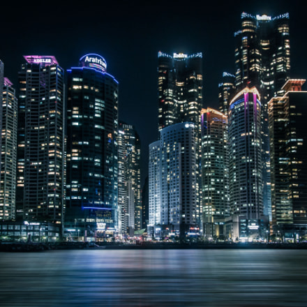 Busan Skyline, Canon EOS 6D, Canon EF 24-105mm f/4L IS