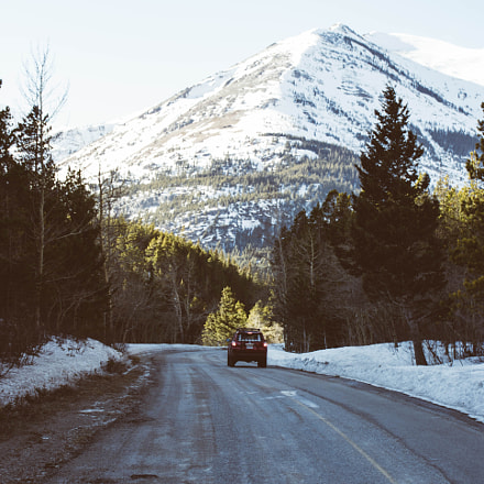 Driving into the mountains, Canon EOS REBEL T6S, Canon EF 17-40mm f/4L