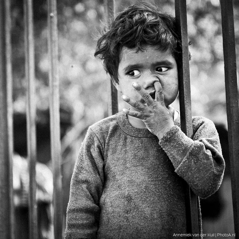 Photograph small kid, big thoughts II by Annemiek van der Kuil on 500px