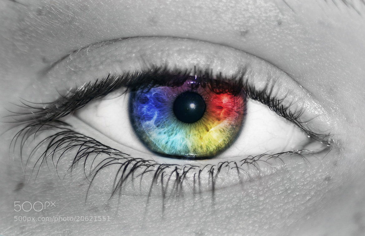 Photograph Eye see a Rainbow by Stephen Bridson on 500px