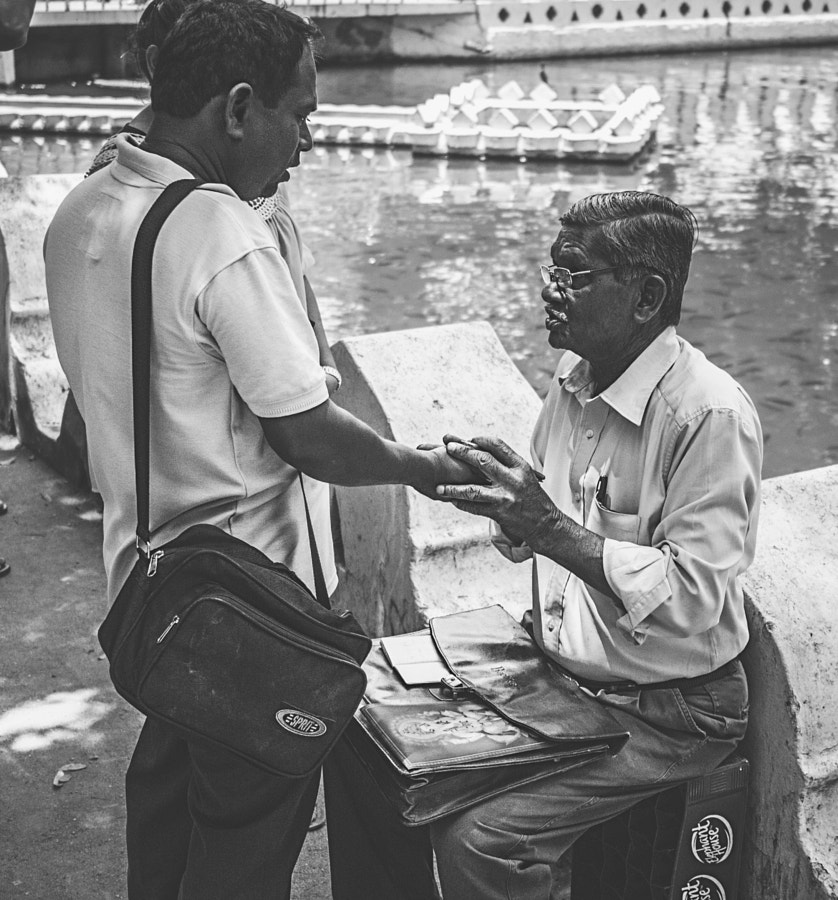 Palm Reader, Kandy, Sri Lanka by Son of the Morning Light on 500px.com