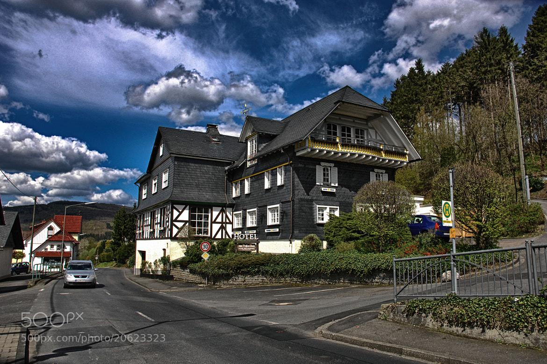 Photograph Hotel zum Weissen Stein by Edmund Orzsik on 500px