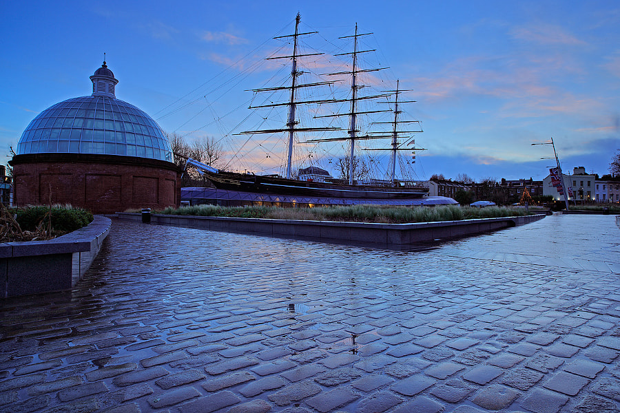 Dawn at the Cutty Sark