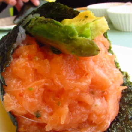 Giant Temaki with Spicy, Canon POWERSHOT SX510 HS