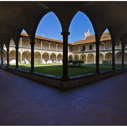 Cloister of the Holy, Canon EOS M, Canon EF-M 11-22mm f/4-5.6 IS STM