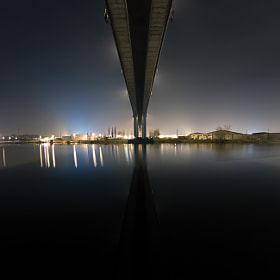 Under the bridge by Skylark Pictures on 500px.com