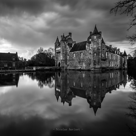 Trecesson's castle before storm, RICOH PENTAX K-3, smc PENTAX-DA 12-24mm F4 ED AL [IF]