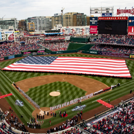 Nationals Park, Washington D.C, Canon EOS 7D MARK II, Sigma 18-200mm f/3.5-6.3 DC OS