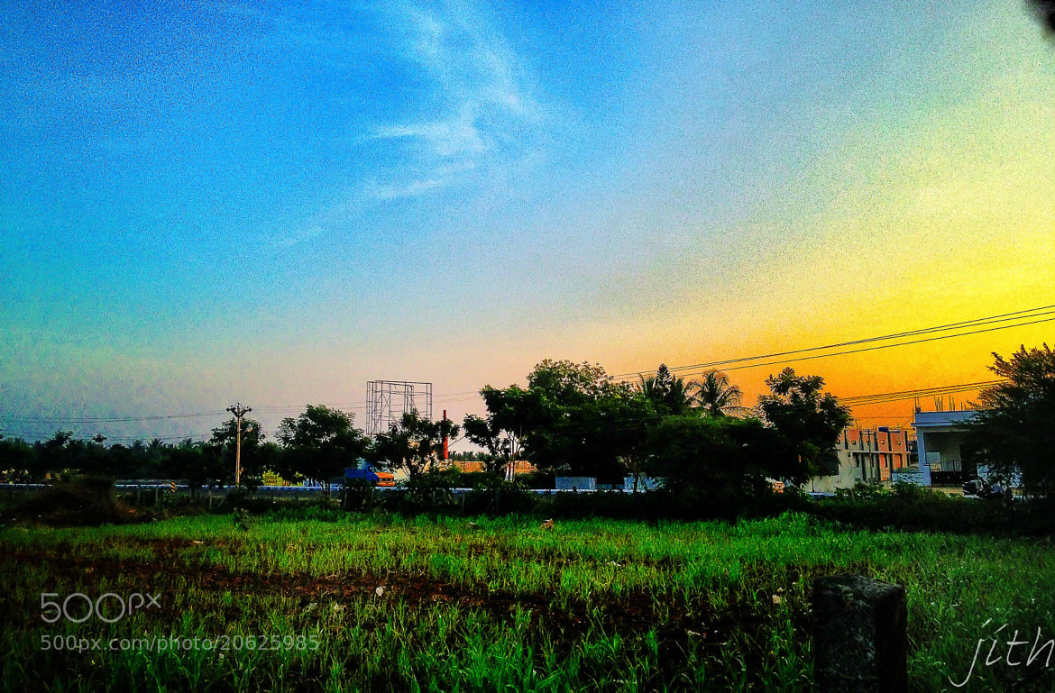 Photograph Good - Evening by - iPhone 4s by inderjith gowthaman on 500px